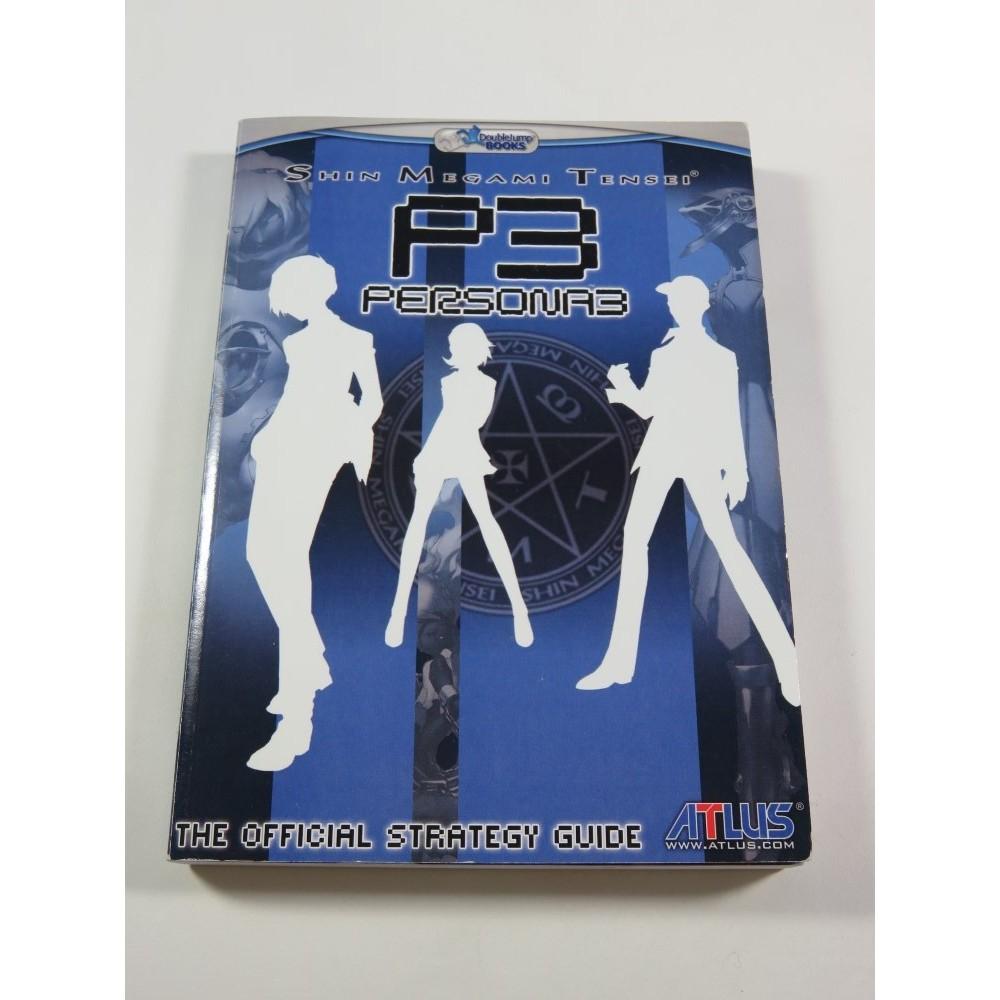 SHIN MEGAMI TENSEI PERSONA 3 P3 OFFICIAL STRATEGY GUIDE DOUBLE JUMP BOOK USA (GOOD CONDITION)