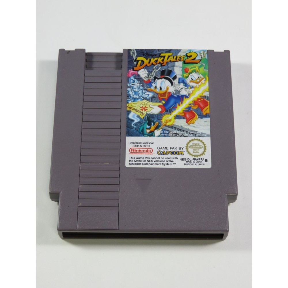 DUCKTALES 2 NINTENDO (NES) PAL-B-FRA (CARTRIDGE ONLY - GOOD CONDITION)