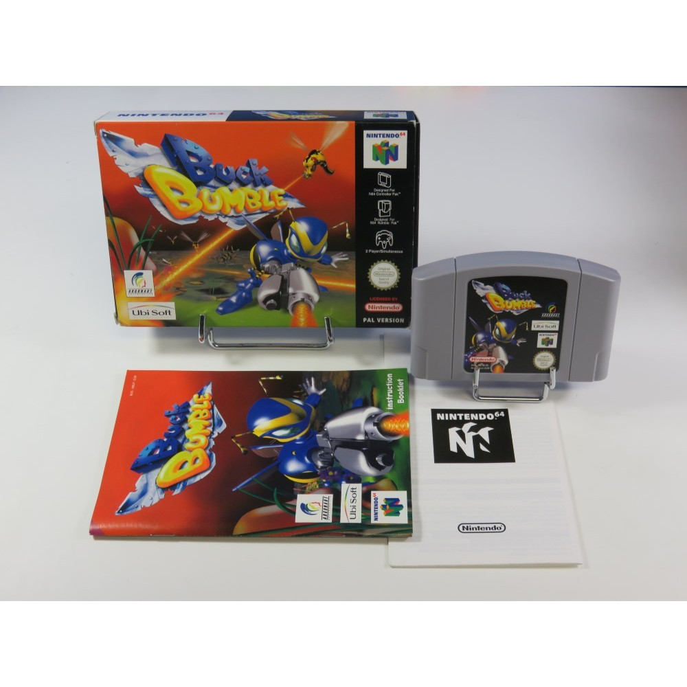 BUCK BUMBLE NINTENDO 64 (N64) PAL-EURO (COMPLETE - GOOD CONDITION)