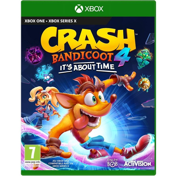 CRASH BANDICOOT 4 IT S ABOUT TIME XBOX ONE FR OCCASION
