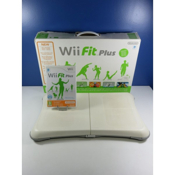 WII FIT PLUS + BALANCE BOARD NINTENDO WII PAL-EURO (COMPLETE - GOOD CONDITION)