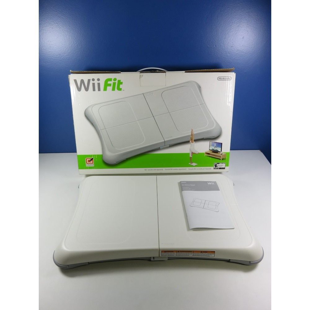 WII FIT BALANCE BOARD NINTENDO WII NTSC-USA (WITHOUT GAME - GOOD CONDITION OVERALL)(REGION FREE BOARD)