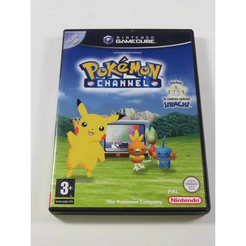 POKEMON CHANNEL NINTENDO GAMECUBE (GC) PAL-FRA (COMPLET - VERY GOOD CONDITION)