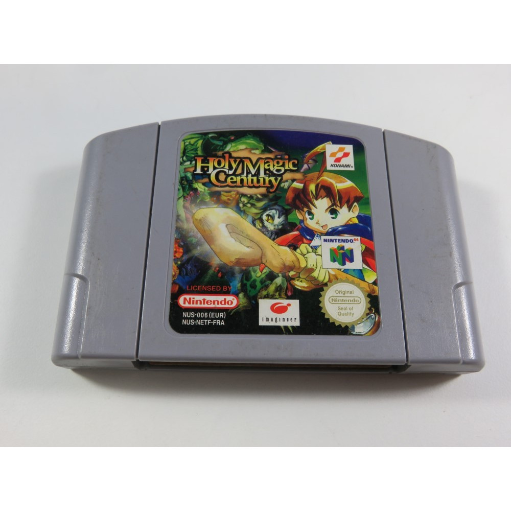 HOLY MAGIC CENTURY NINTENDO 64 (N64) PAL-FRA (CARTRIDGE ONLY - GOOD CONDITION)