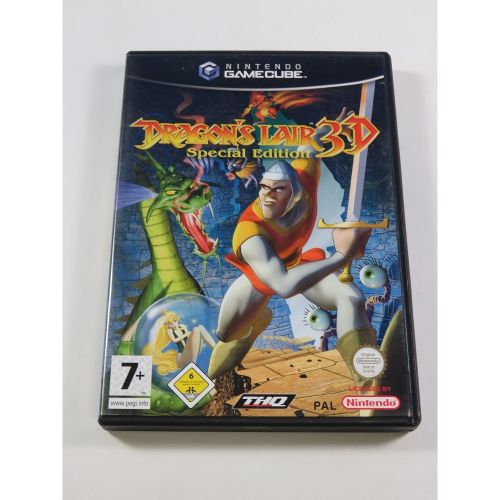 DRAGON S LAIR 3D SPECIAL EDITION GAMECUBE (GC) PAL-EURO (COMPLET - GOOD CONDITION OVERALL)