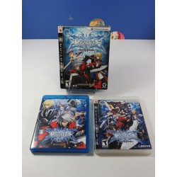 BLAZBLUE CALAMITY TRIGGER LIMITED EDITION PLAYSTATION 3 (PS3) USA (COMPLET - GOOD CONDITION)(+OST+REMIX+BLU RAY MOVIE)