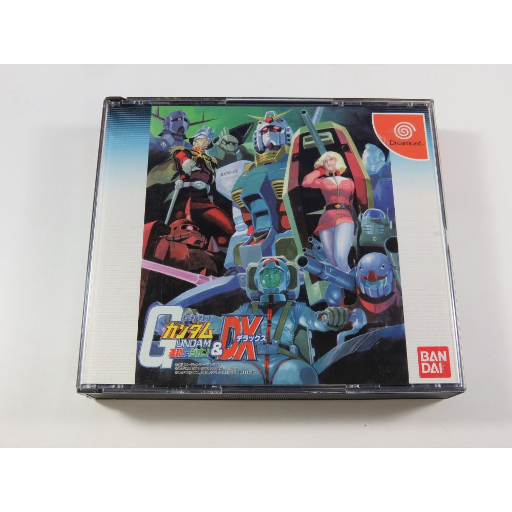 MOBILE SUIT GUNDAM E.F.F VS. ZEON & DX DREAMCAST JPN OCCASION