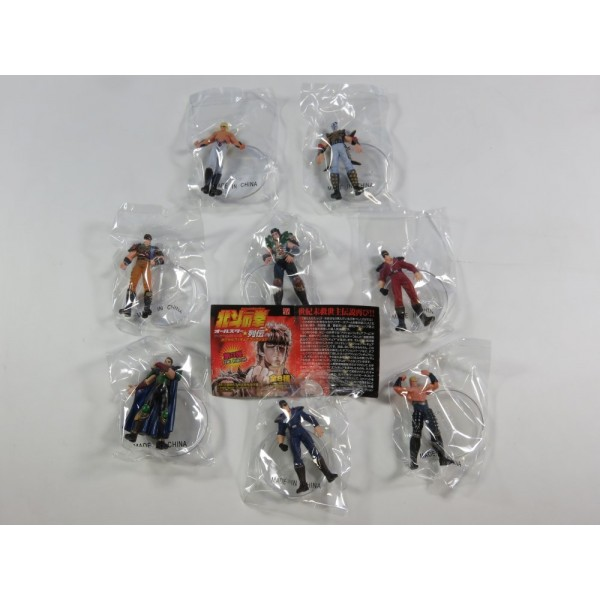 COMPLETE HOKUTO NO KEN ALL STAR RETSUDEN CAPSULE FIGURE COLLECTION VOL.3 NEUF - BRAND NEW