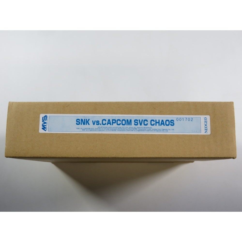 FULL KIT MVS SNK VS CAPCOM SVC CHAOS - (COMPLETE - GOOD CONDITION) - (SERIAL MATCHING - 100 ORIGINAL)