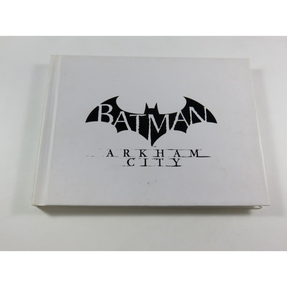 ARTBOOK & JEU BATMAN ARKHAM CITY PLAYSTATION 3 (PS3) EURO (WITHOUT BOX OR MANUAL - GOOD CONDITION OVERALL)