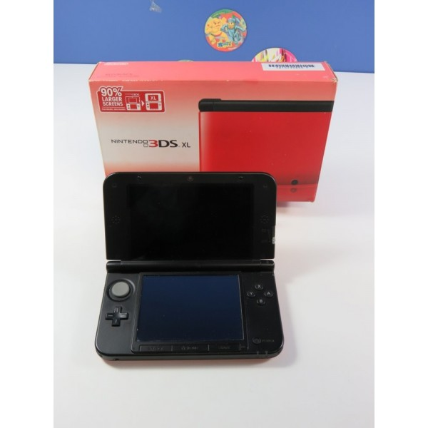 CONSOLE NINTENDO 3DS XL NTSC-USA (COMPLET - GOOD CONDITION)(REGION LOCK - ONLY FOR AMERICAN GAMES)