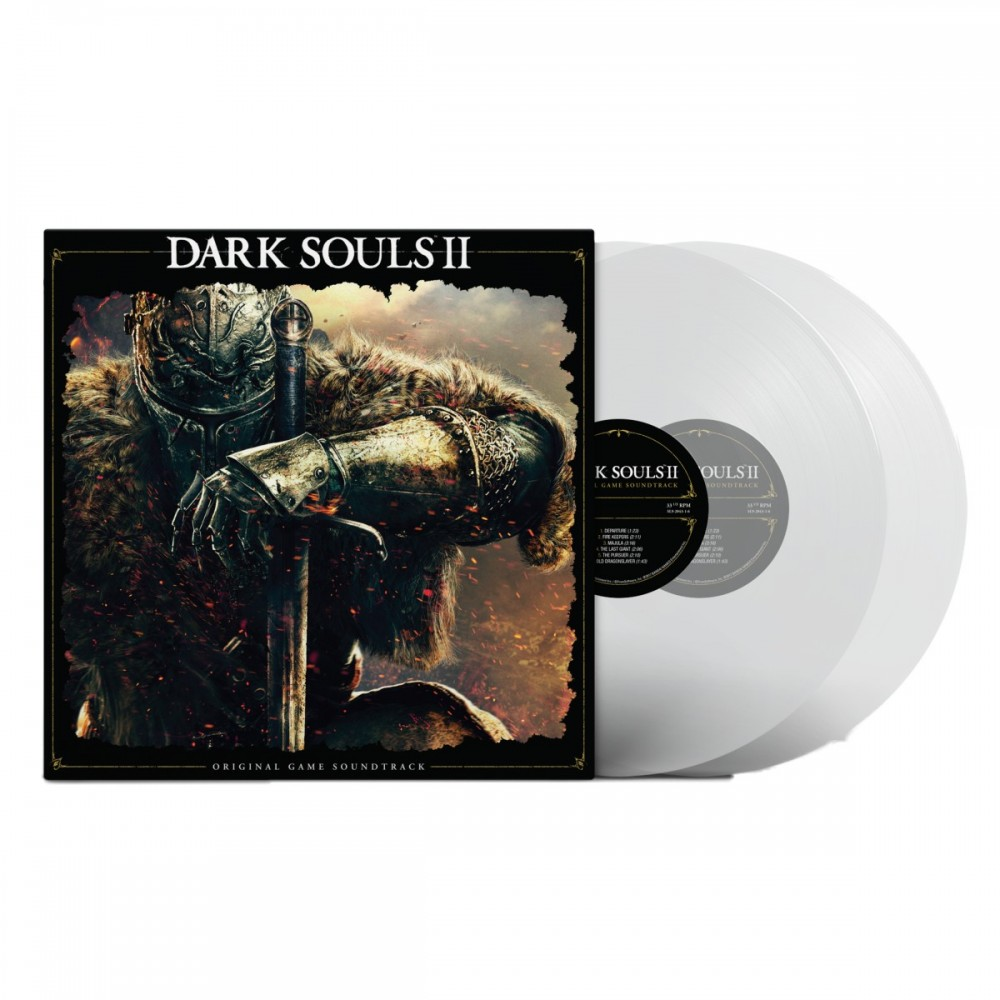 VINYLE DARK SOULS II CLEAR EDITION EURO NEW