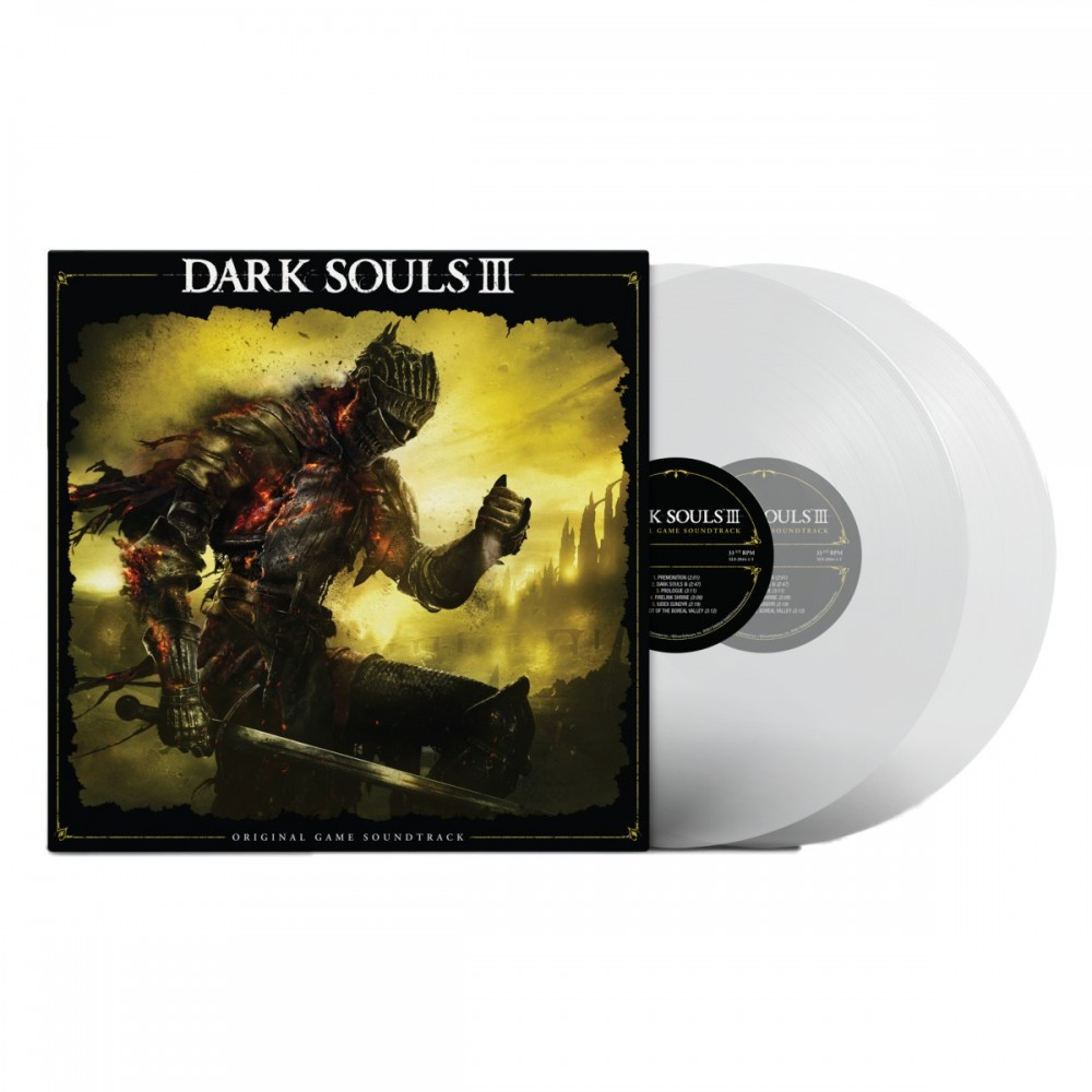VINYLE DARK SOULS III CLEAR EDITION EURO NEW