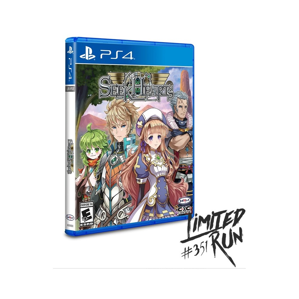 SEEK HEARTS PS4 US NEW( LIMITED RUN GAMES)