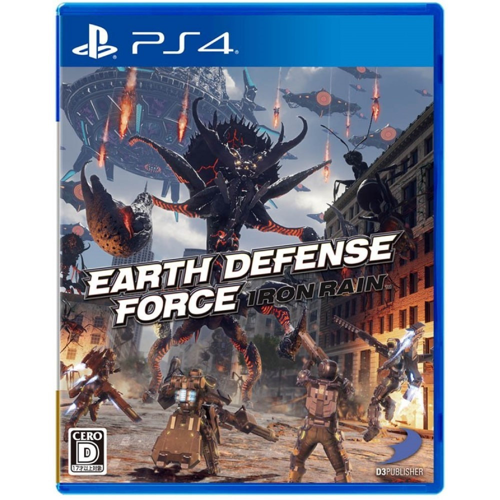 EARTH DEFENSE FORCE IRON RAIN PS4 JAP OCCASION