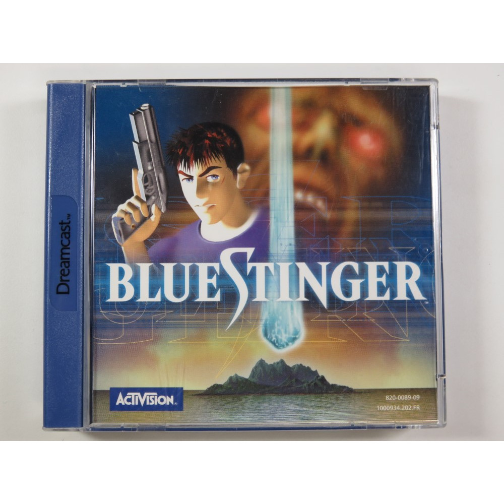 BLUE STINGER SEGA DREAMCAST PAL-FR (COMPLETE - GOOD CONDITION)