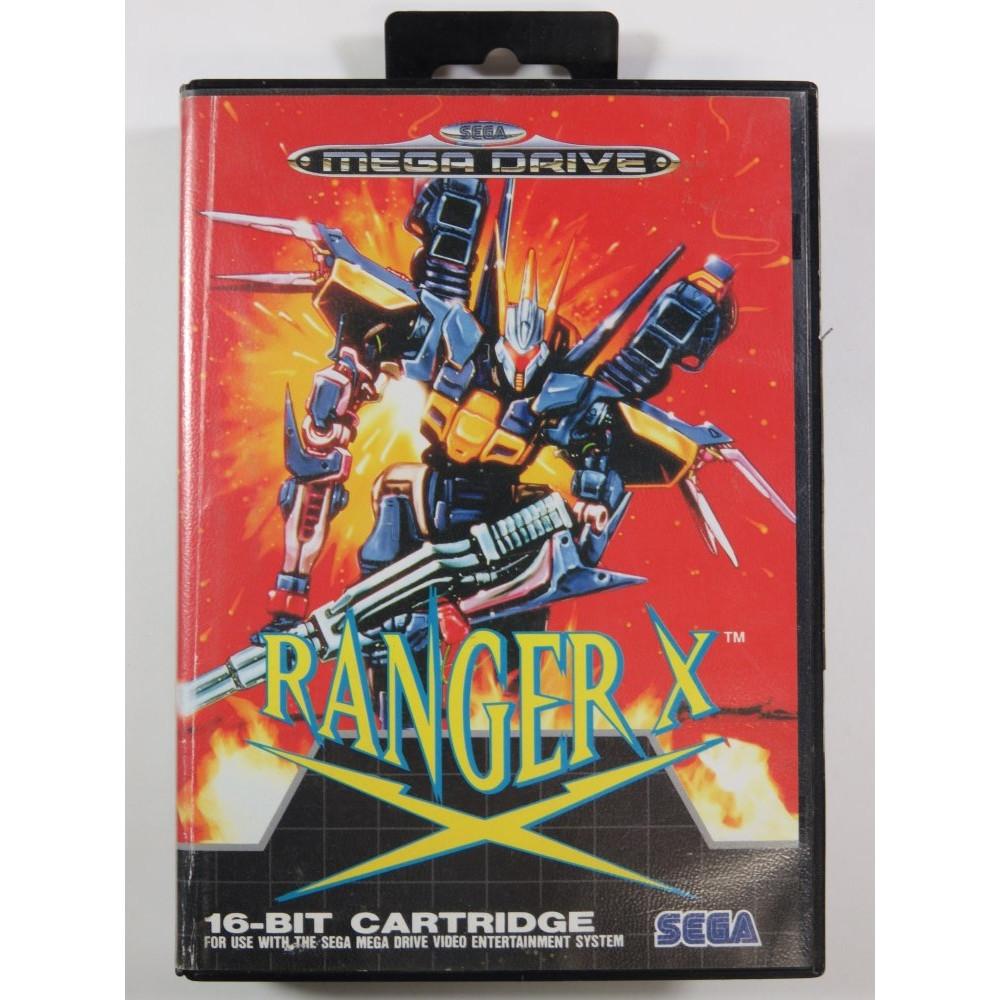 RANGER X SEGA MEGADRIVE PAL-EURO (COMPLETE - GOOD CONDITION)