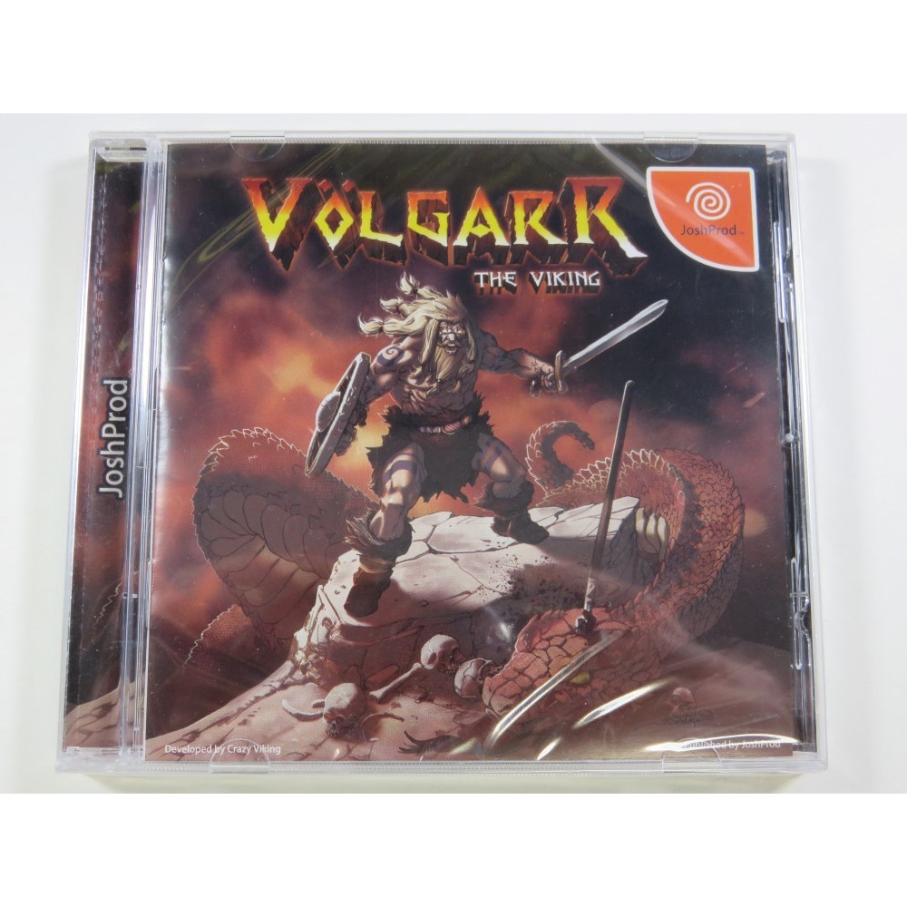 VOLGARR THE VIKING SEGA DREAMCAST NTSC-JPN (NEUF - BRAND NEW) REGION FREE