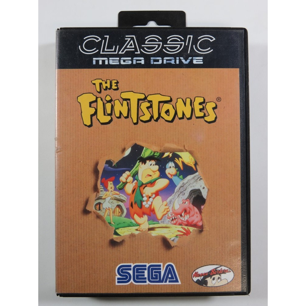 THE FLINTSTONES (CLASSIC) SEGA MEGADRIVE PAL-EURO (COMPLETE - GOOD CONDITION) TAITO 1993