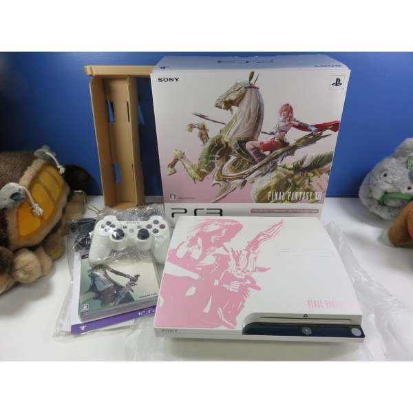 CONSOLE PLAYSTATION 3 FINAL FANTASY XIII LIGHTNING EDITION PS3-JPN (COMPLETE-VERY GOOD CONDITION)
