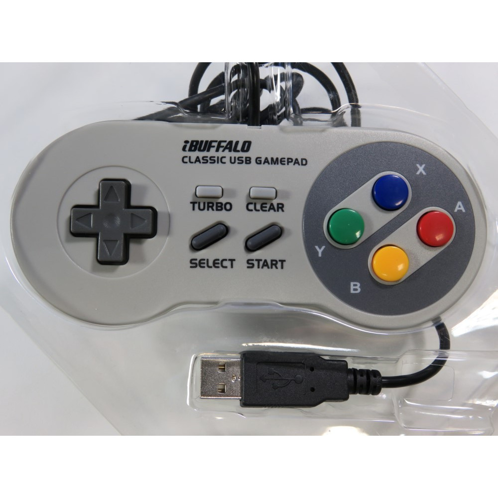 CONTROLLER BUFFALO USB GAMEPAD (SNES STYLE) (GOOD CONDITION)