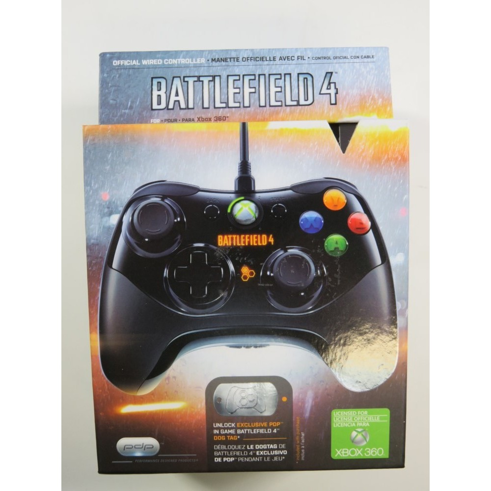 CONTROLLER - MANETTE XBOX 360 FILAIRE BATTLEFIELD 4 PAL-EURO OCCASION
