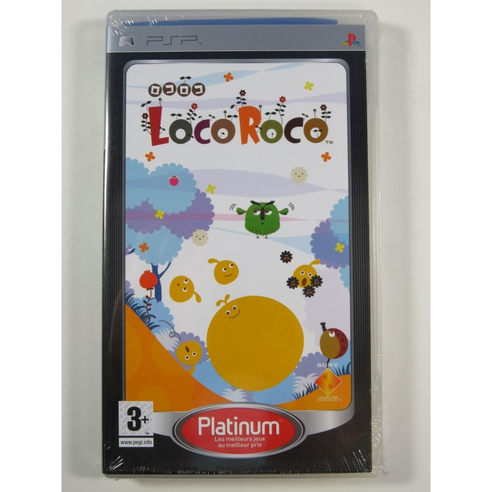 LOCO ROCO PLATINUM PSP FR NEW