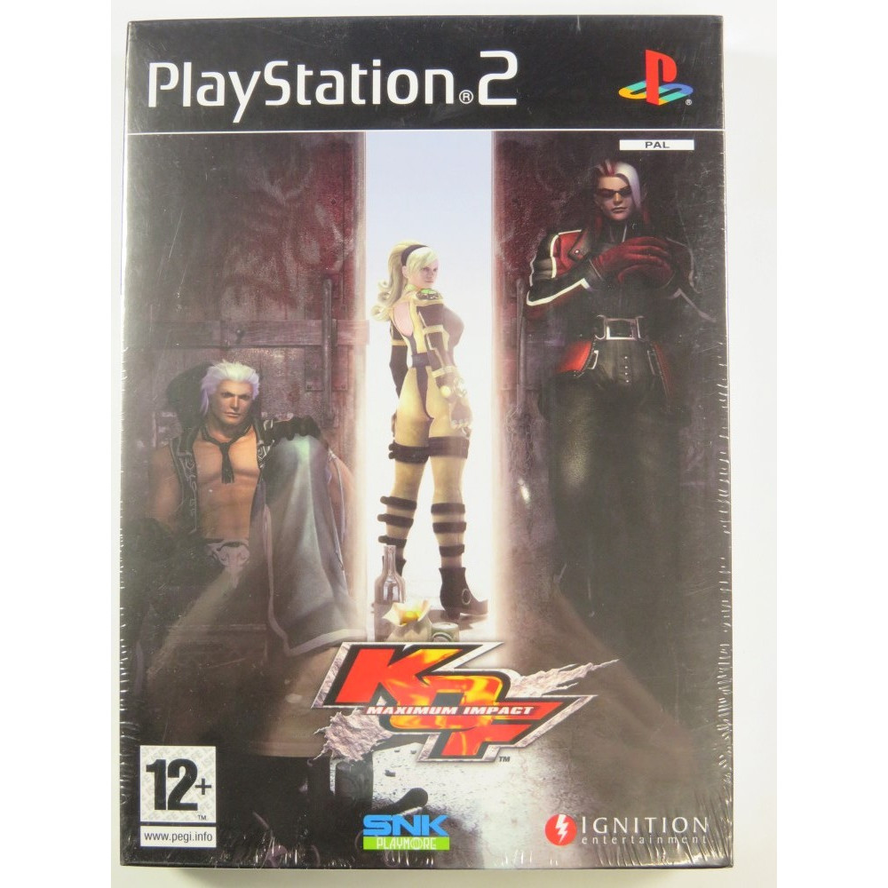 KING OF FIGHTERS MAXIMUM IMPACT PLAYSTATION 2 (PS2) PAL-FR NEW