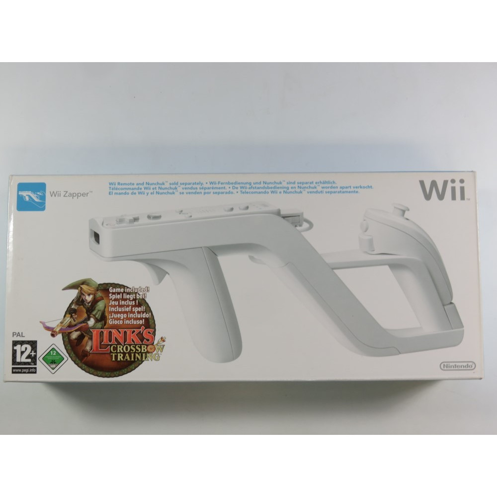 LINK S CROSSBOW TRAINING + WII ZAPPER WII PAL-EURO OCCASION