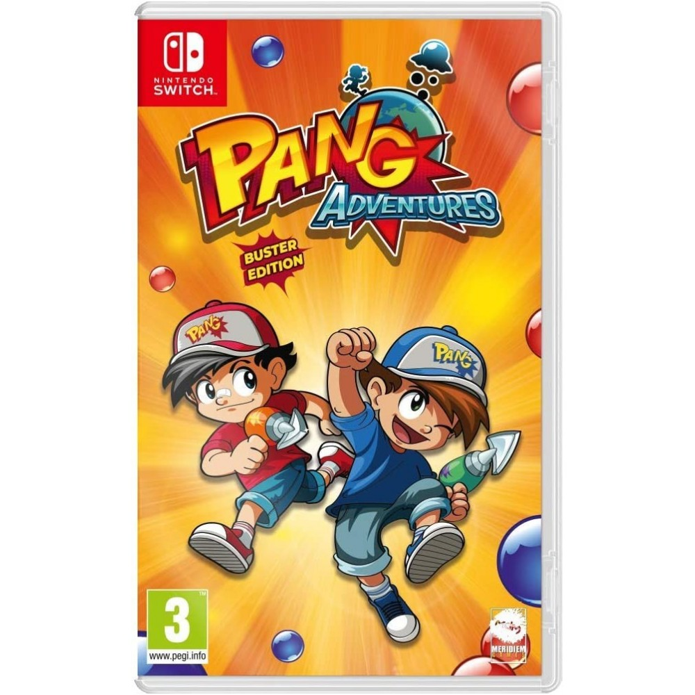 PANG ADVENTURES BUSTER EDITION SWITCH FR NEW