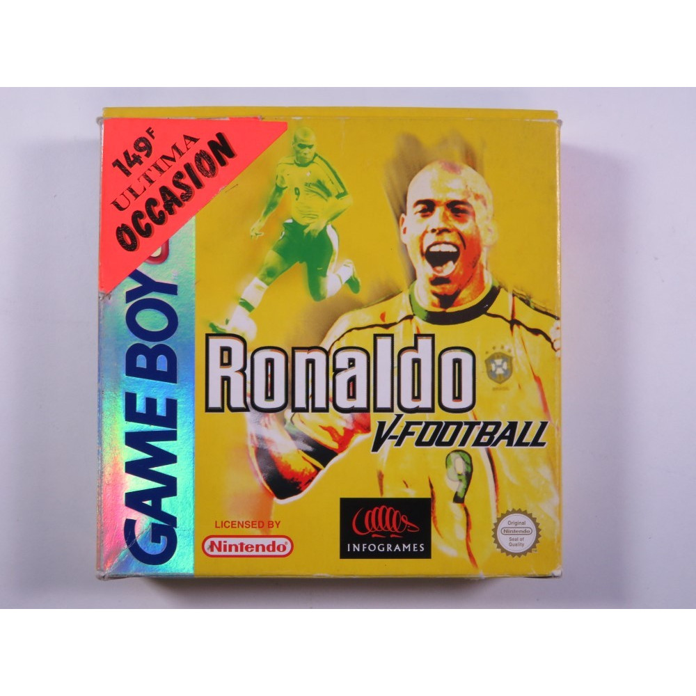 RONALDO V-FOOTBALL GAMEBOY COLOR (GBC) PAL-FAH (SANS NOTICE - WITHOUT MANUAL) - (GOOD CONDITION)