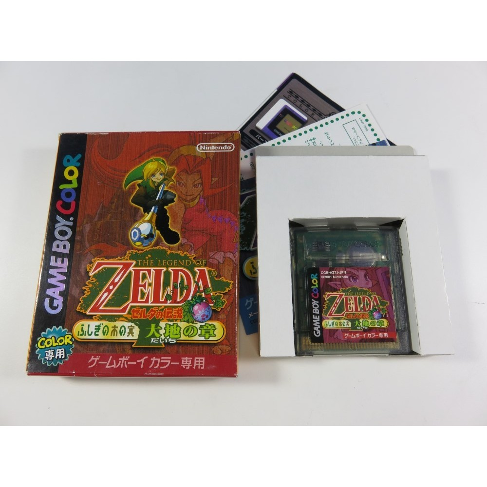 THE LEGEND OF ZELDA: ORACLE OF SEASONS GAMEBOY COLOR JPN (NO MANUAL - GOOD CONDITION) NINTENDO GBC