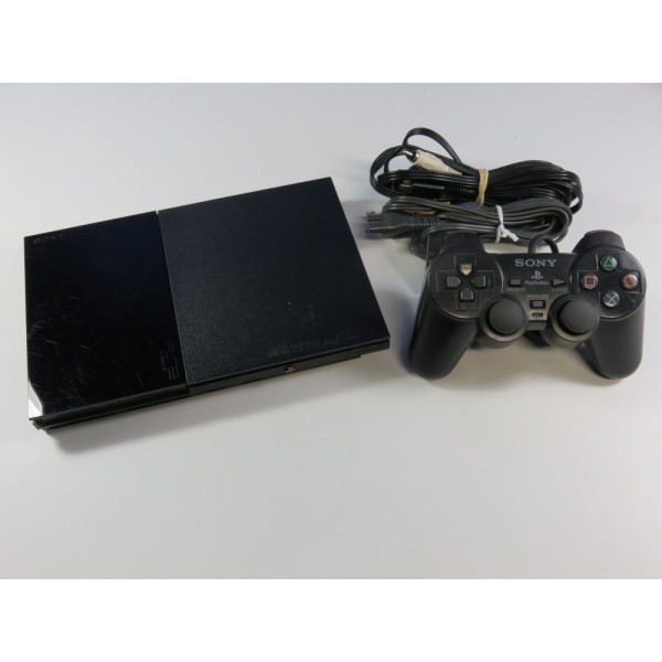 CONSOLE SONY PLAYSTATION 2 SLIM (PSTWO) NTSC-JPN (SANS BOITE - WITHOUT BOX) - (GOOD CONDITION OVERALL)