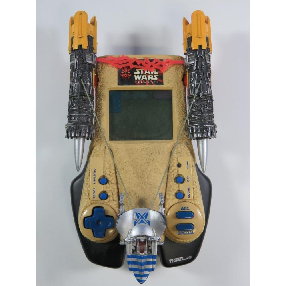 STAR WARS EPISODE 1 - PODRACE CHALLENGE HANDHELD LCD GAME TIGER ELECTRONIC (GAME ONLY)