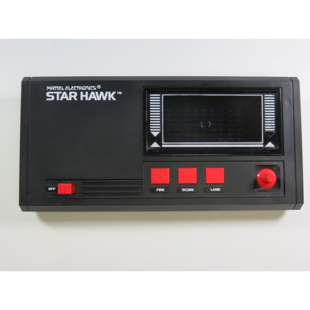 LCD MATTEL ELECTRONICS STAR HAWK (GAME ONLY) 1981