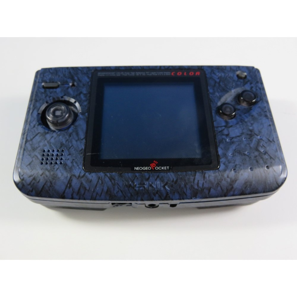 CONSOLE NEOGEO POCKET COLOR NIGHT BLUE SNK JPN (GOOD CONDITION, FULLY WORKING)