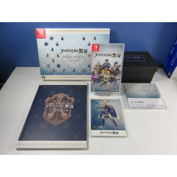 FIRE EMBLEM MUSOU (WARRIORS) TREASURE BOX NINTENDO SWITCH JPN (COMPLET - VERY GOOD CONDITION)