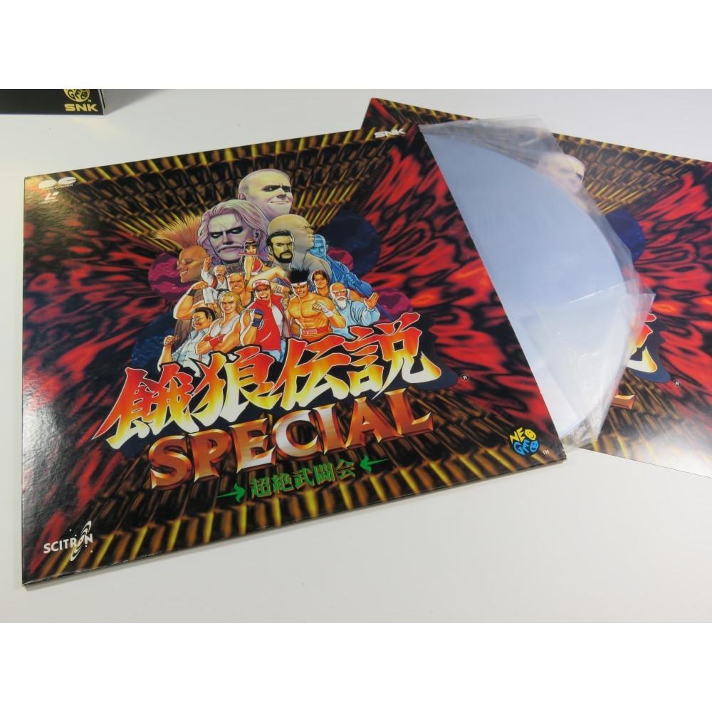 LD LASER DISC SNK NEOGEO GAROU DENSETSU SPECIAL NTSC-JPN (GOOD CONDITION) 1993