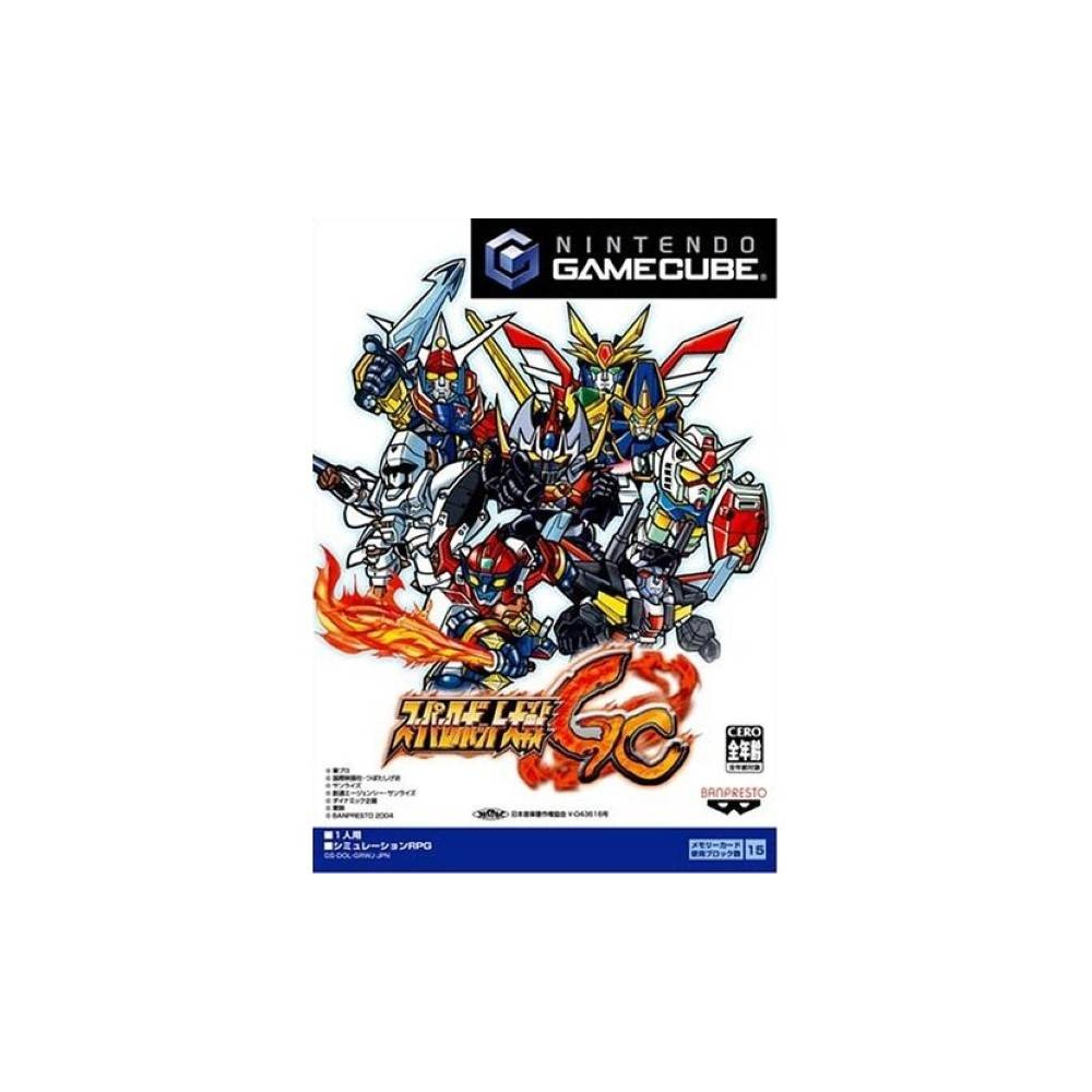 SUPER ROBOT TAISEN GC GAMECUBE NTSC-JPN NEW