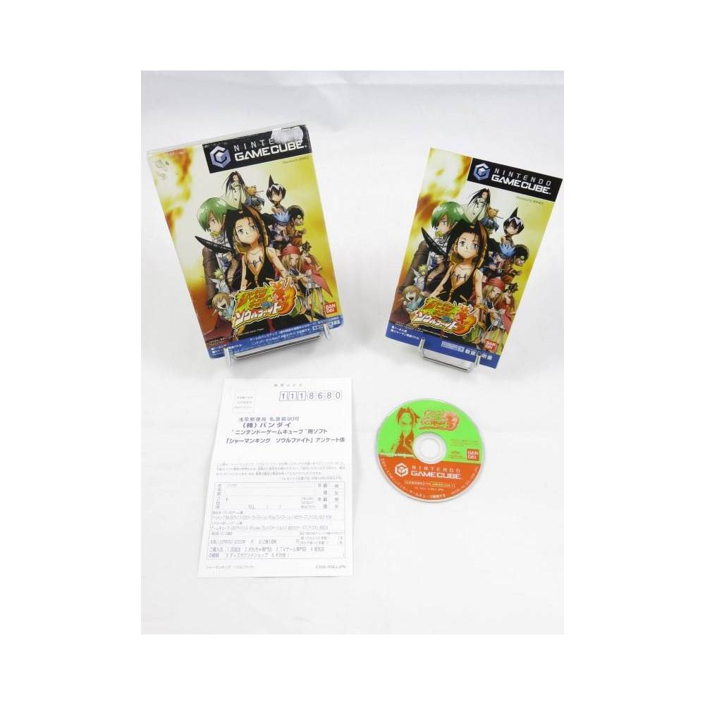 SHAMAN KING: SOUL FIGHT GAMECUBE NTSC-JPN OCCASION