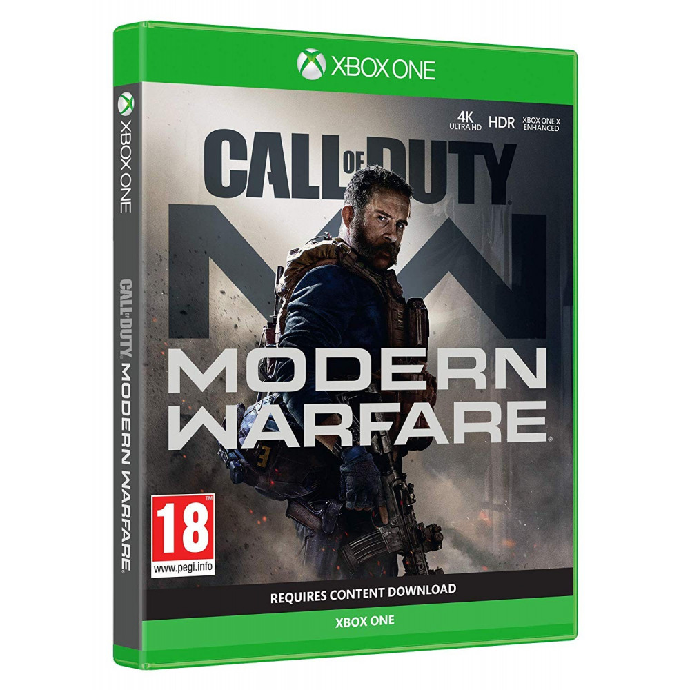 CALL OF DUTY MODERN WARFARE XBOX ONE UK OCCASION