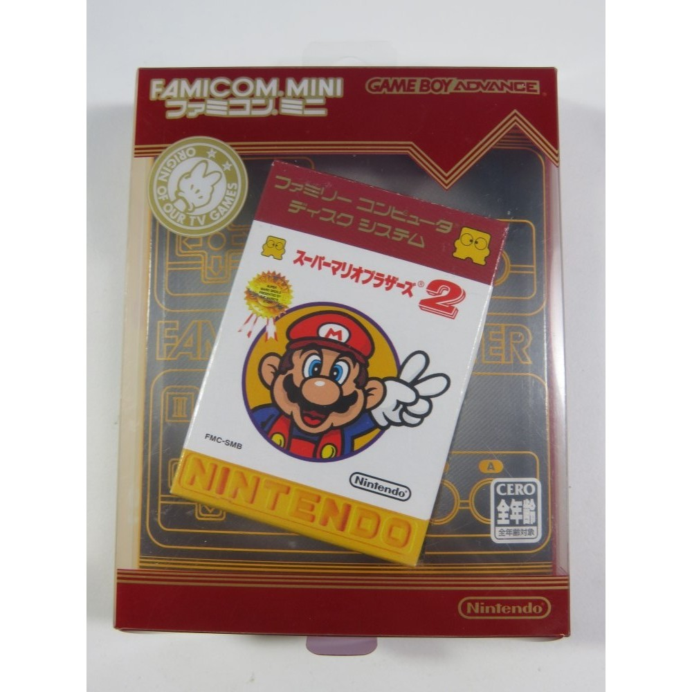 SUPER MARIO BROTHERS 2 FAMICOM MINI GBA JPN (COMPLET-GOOD CONDITION) DISK SYSTEM GAMEBOY ADVANCE
