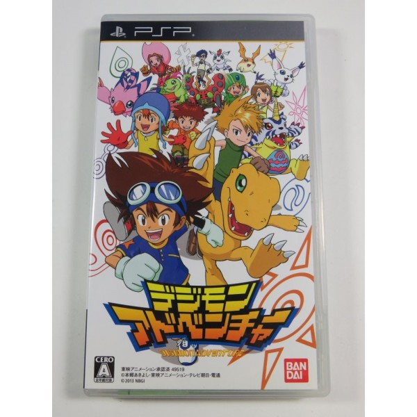 DIGIMON ADVENTURE PSP JPN (COMPLETE GOOD CONDITION)