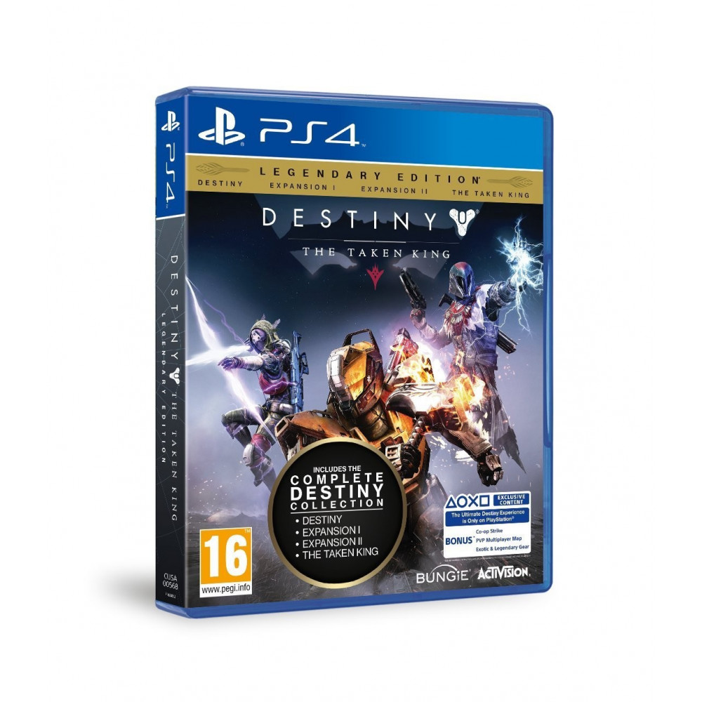 DESTINY EDITION LEGENDAIRE PS4 VF