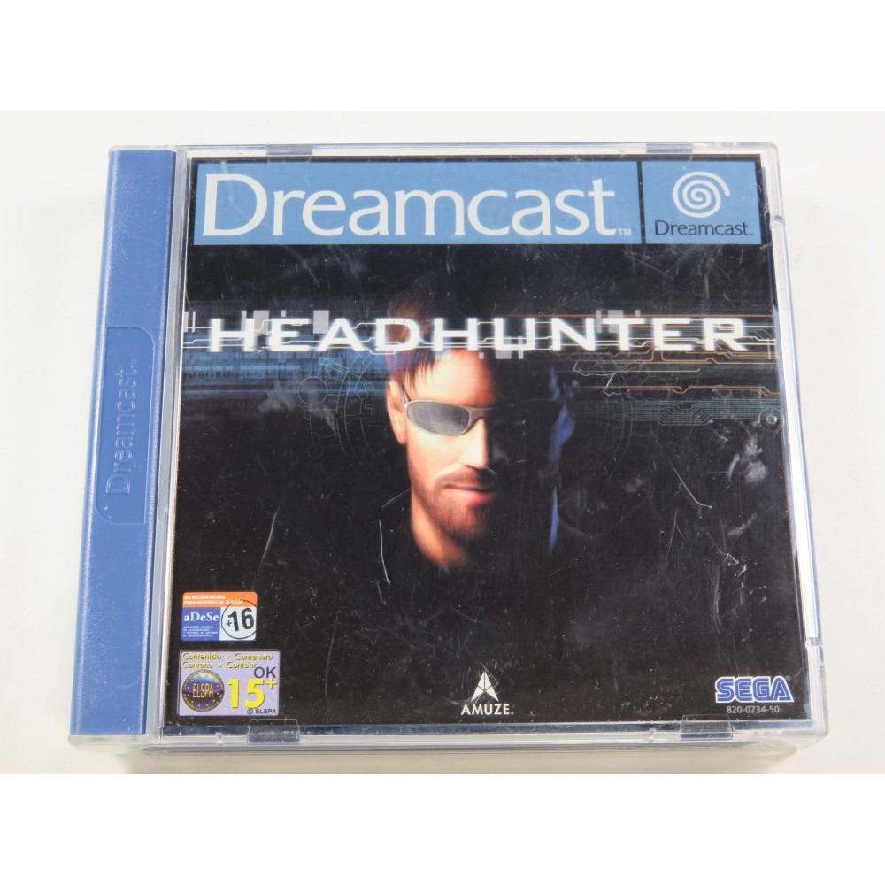 HEADHUNTER SEGA DREAMCAST PAL-EURO (SANS NOTICE - WITHOUT MANUAL)
