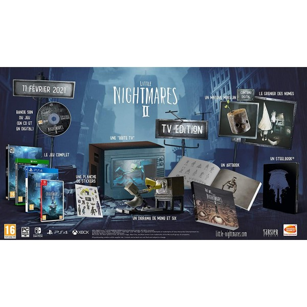LITTLE NIGHTMARES 2 - XBOX ONE FR