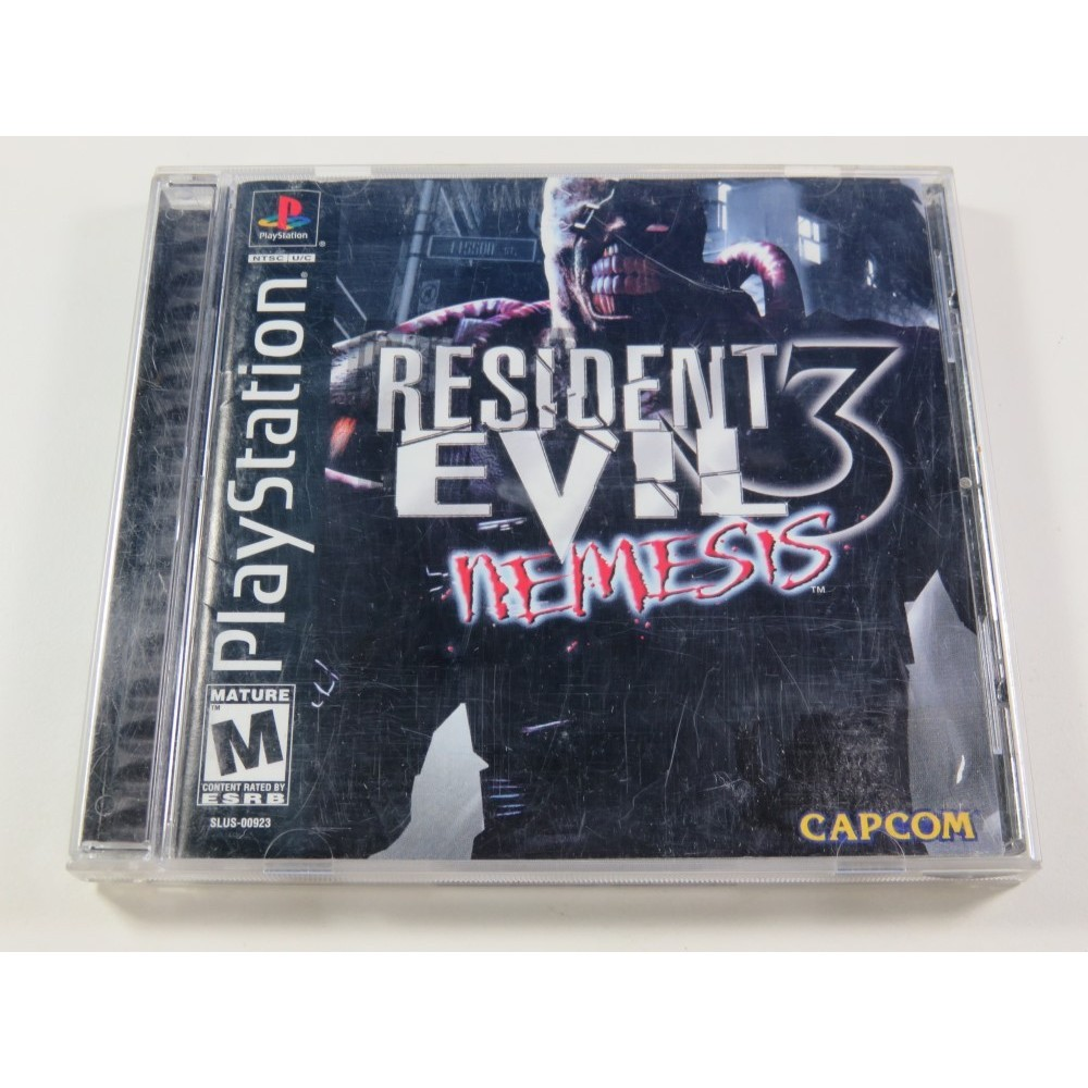 RESIDENT EVIL 3 NEMESIS PLAYSTATION 1 (PS1) NTSC-USA (COMPLETE - GOOD CONDITION)