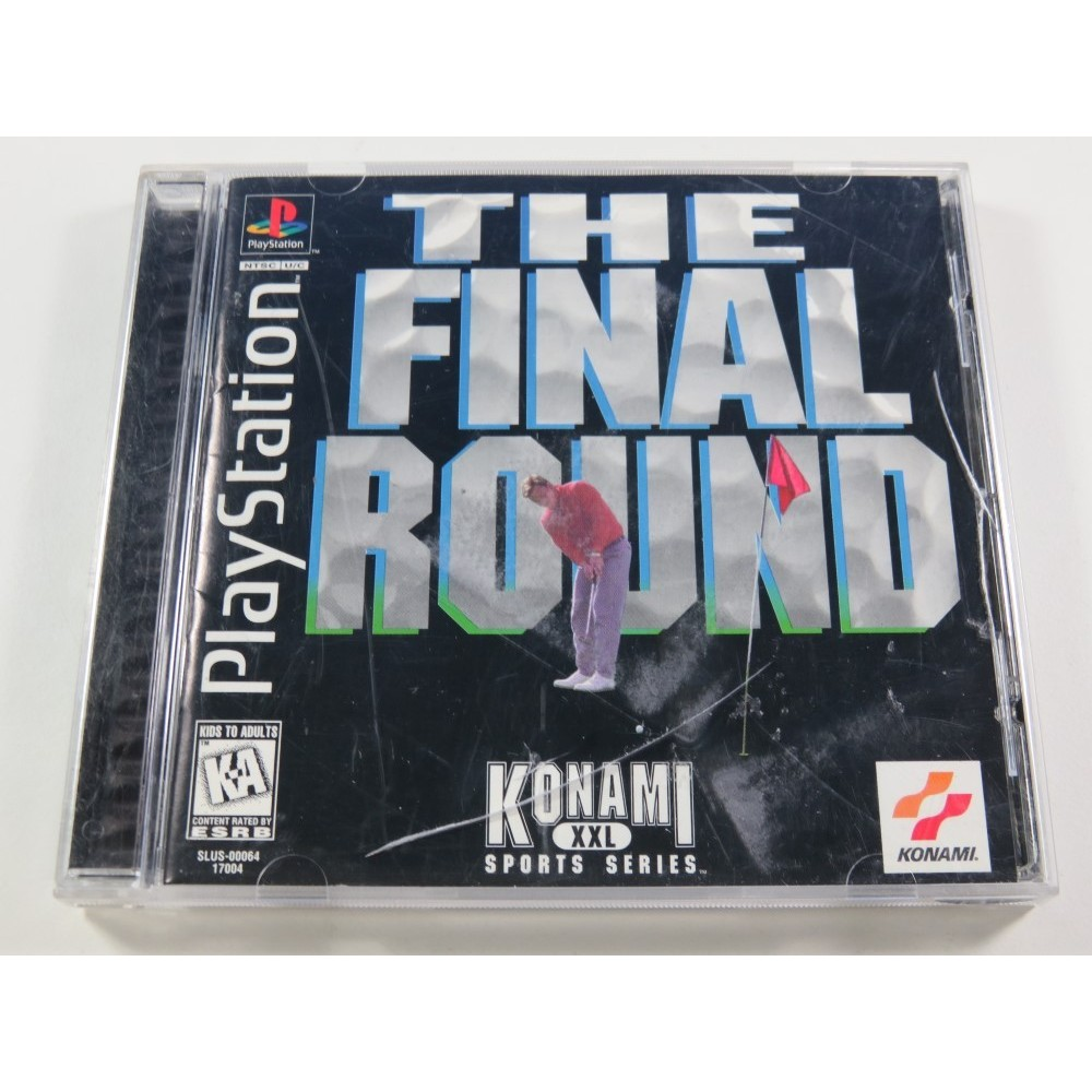 THE FINAL ROUND PLAYSTATION 1 (PS1) NTSC-USA (COMPLETE - BOX DAMAGED)