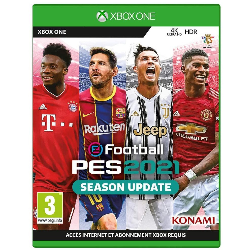 PRO EVOLUTION SOCCER 2021 EFOOTBALL XBOX ONE FR OCCASION