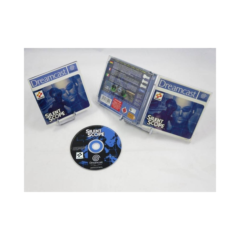 SILENT SCOPE DREAMCAST PAL-EURO OCCASION